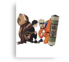 Naruto - Naruto x Gaara Canvas Print