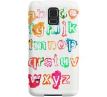 Alphabet Soup Samsung Galaxy Case/Skin