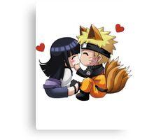 Naruto - Hinata x Naruto Canvas Print