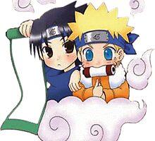 Naruto - Naruto x Sasuke by Neiqo