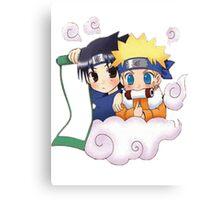 Naruto - Naruto x Sasuke Canvas Print