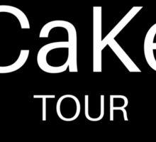 CaKe Tour Sticker