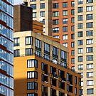 Manhattan Abstract by Harry Oldmeadow