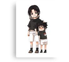 Naruto - Itachi x Sasuke Canvas Print