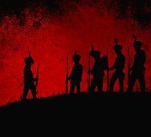 The Black Brunswickers by Mel Brackstone.com