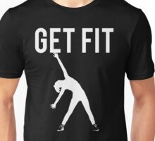 Get Fit Exercise Motivation Burpees Squats Lifting Unisex T-Shirt