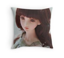 by the time Throw Pillow