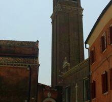 Venetian Bell Tower Sticker