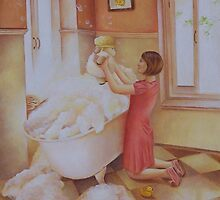 Bath Time by Irene Owens