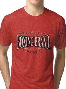Boxing Brand Tri-blend T-Shirt
