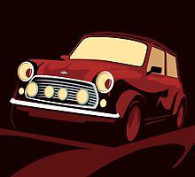 Classic Mini Cooper by Michael Tompsett