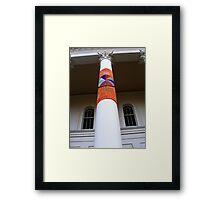 Cosy Columns 14 Framed Print