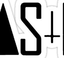 Wasted [Black] Sticker
