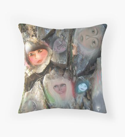 Nature Spirits Throw Pillow