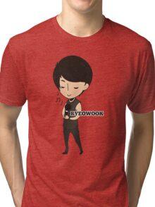 Super Junior - Chibi Ryeowook Tri-blend T-Shirt