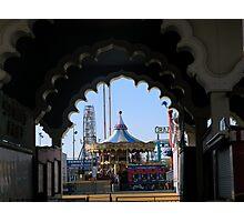 Steel Pier - Amusement Park     ^ Photographic Print