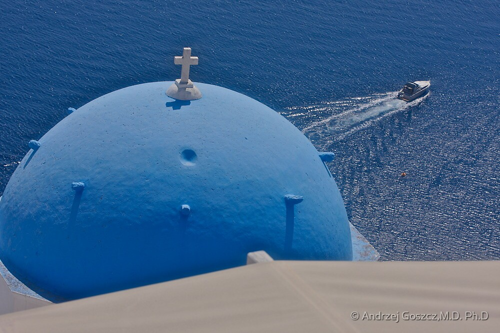 Oia . Santorini, Thira, Greece. Brown Sugar Story 2009. Views (311) favorited by (2) thank you friends ! Challenge Recognition Award in Eastern European Art. by © Andrzej Goszcz,M.D. Ph.D