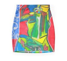 Portrait Mini Skirt