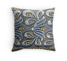 A Downton Abbey Dress Throw Pillow