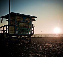 Venice Beach Baywatch by Chris Muscat