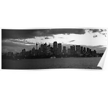 Sydney from Cremorne Point Poster