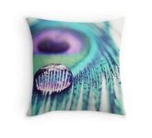 Happiness is a perfume you cannot pour on others without getting a few drops on yourself... Throw Pillow
