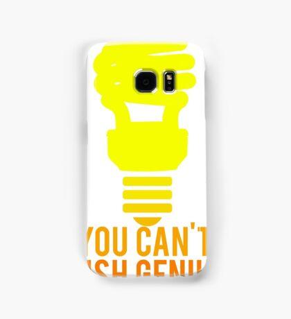 You Can't Rush Genius Lightbulb Samsung Galaxy Case/Skin