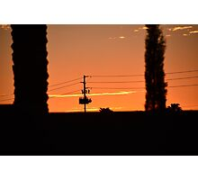 To Live And Die In AZ Photographic Print