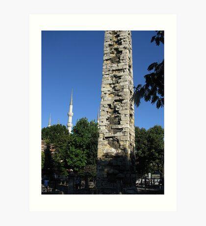 The Walled Obelisk,TURKEY Art Print
