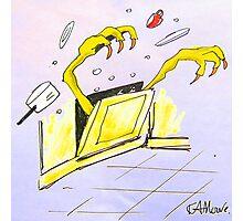 The Devil's Dishwasher Photographic Print