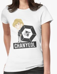EXO - MAMA Chibi Chanyeol (For Light Colors) Womens Fitted T-Shirt