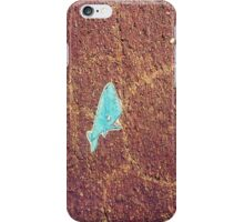 Whale on the Street iPhone Case/Skin