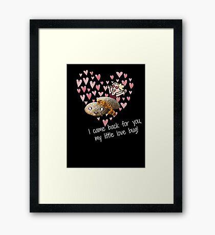 little love bug Framed Print