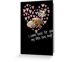 little love bug Greeting Card