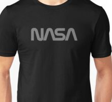 NASA Text [gray] Unisex T-Shirt