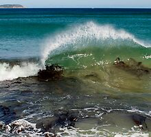 Wave on  the Prom by Gary Browne
