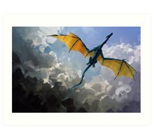 Dragon Sky Art Print