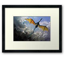 Dragon Sky Framed Print