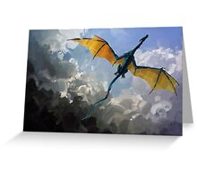 Dragon Sky Greeting Card