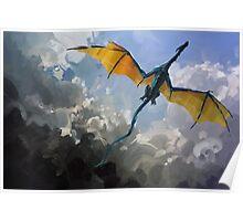 Dragon Sky Poster