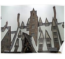 The Chimneys at Hogwarts Village Poster