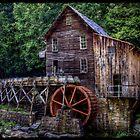 Glade Creek Grist Mill by Christine Annas