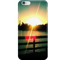 Sunset from the Wharf iPhone Case/Skin