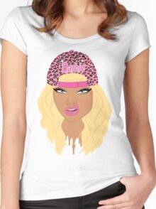 Swag Barbie Women's Fitted Scoop T-Shirt