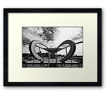Station Dortmund Framed Print