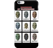 Expressions of DragonPriests iPhone Case/Skin
