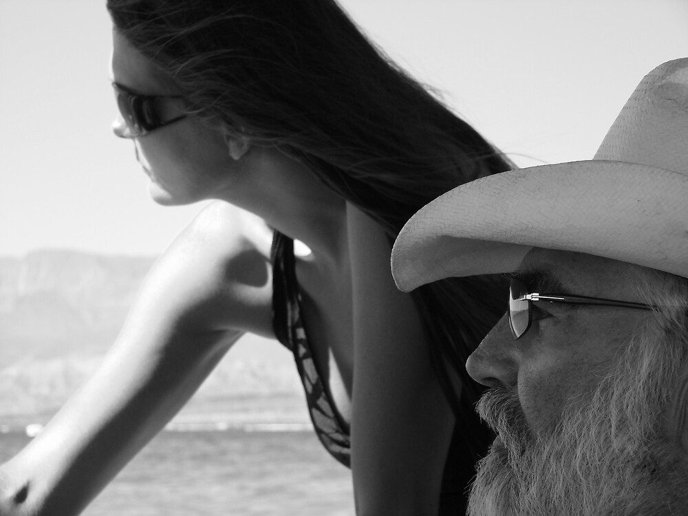 Father & Daughter by Susan Bergstrom