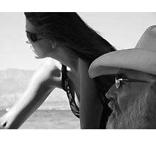 Father & Daughter Photographic Print