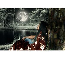 Thunder Moon - featuring GaWaNi PonyBoy Photographic Print