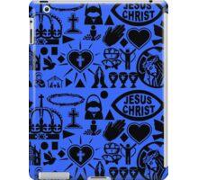 CHRISTIANITY (BLUE) iPad Case/Skin